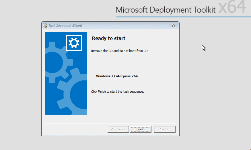 Remove the CD and do not boot from CD