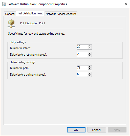 SCCM Pull Distribution Point Settings Explained