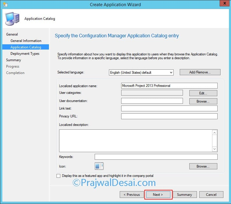 How to Deploy Microsoft Project 2013 using SCCM