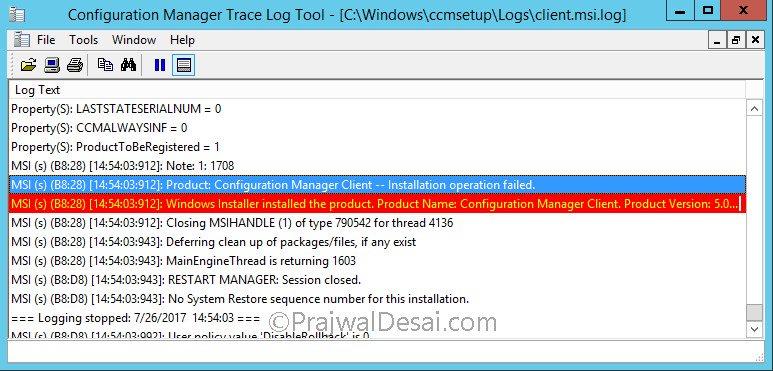 SCCM Client Agent Installation Error code 80041002