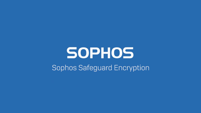 sophos endpoint