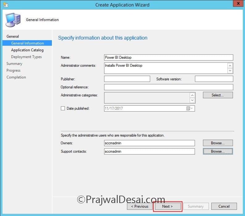 How to Deploy Power BI Desktop using SCCM Snap2