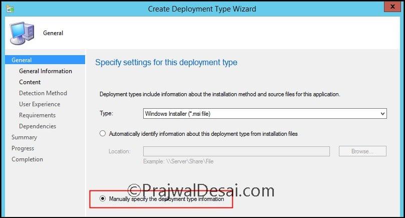 How to Deploy Power BI Desktop using SCCM Snap3