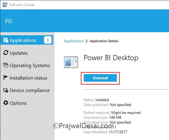 How to Deploy Power BI Desktop using SCCM