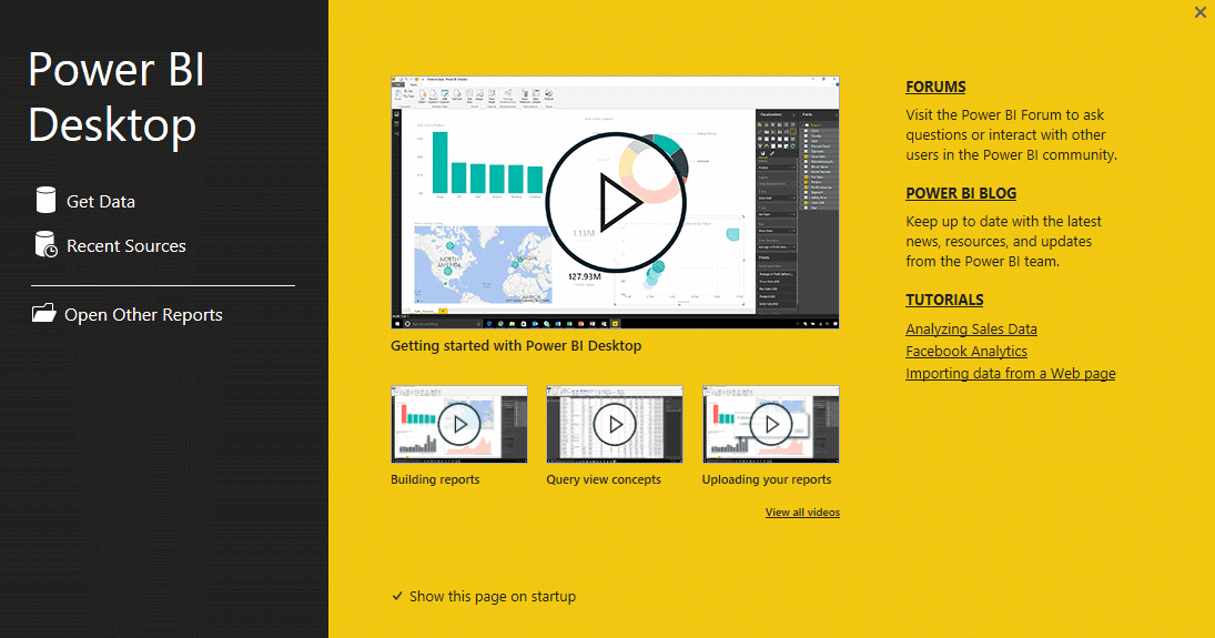 PowerBI desk