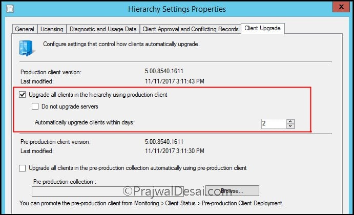 SCCM Configuration Manager 1710 Upgrade Guide Snap9