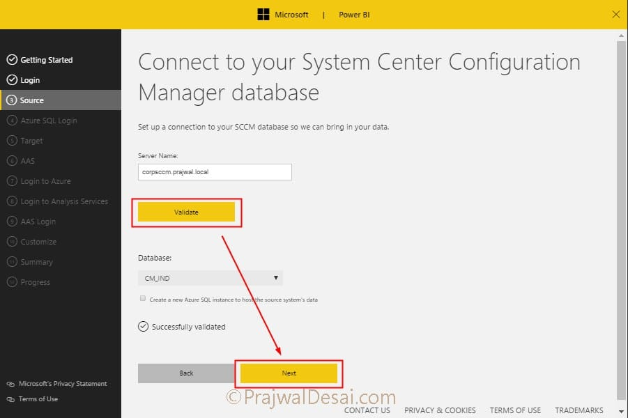 SCCM Power BI Dashboard Installation and Configuration