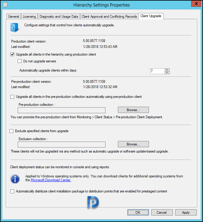 How to Install SCCM Current Branch 1710 Hotfix Rollup Snap11
