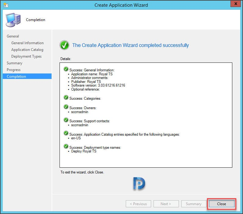 How to Deploy Royal TS using SCCM Snap14