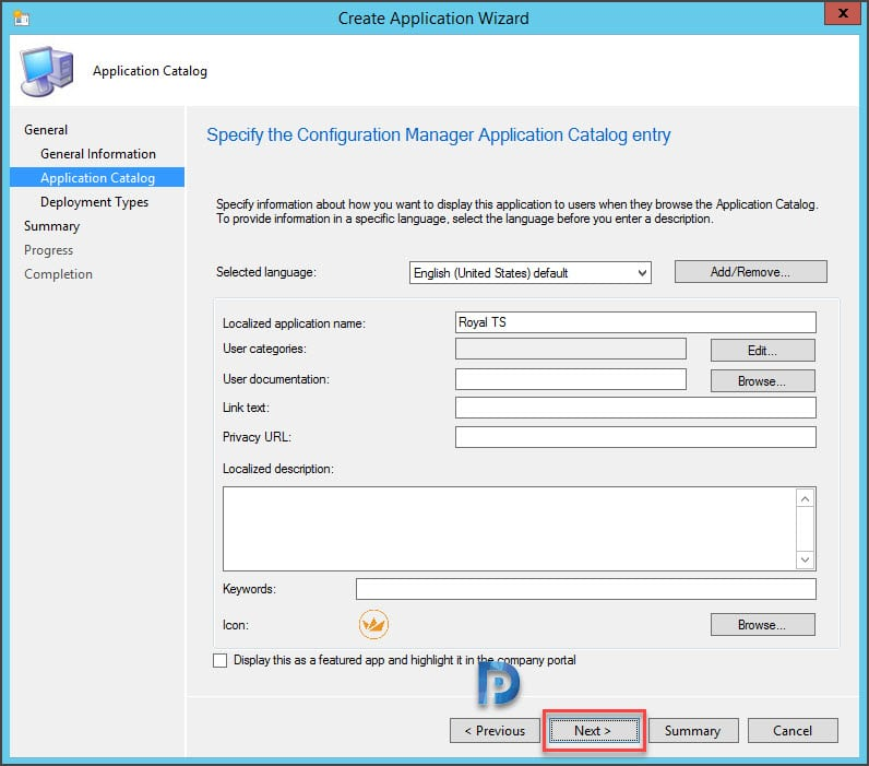 How to Deploy Royal TS using SCCM