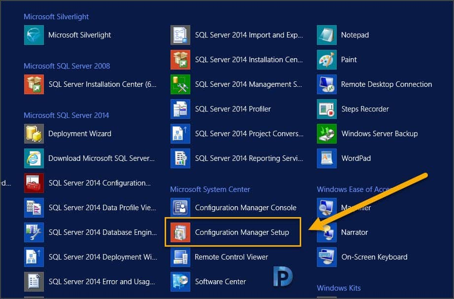 Perform SCCM Configuration Manager Site Reset