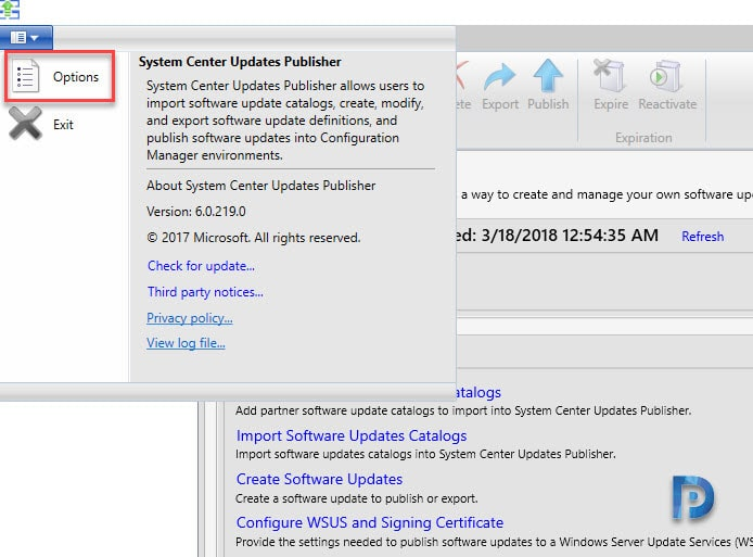 Install and Configure System Center Updates Publisher Preview Snap7