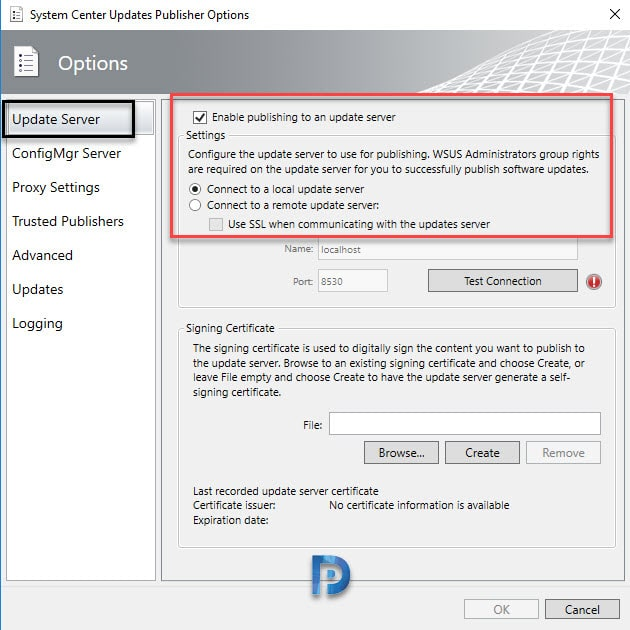 Install and Configure System Center Updates Publisher Preview Snap8