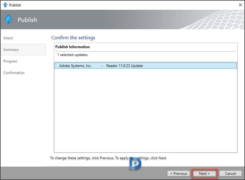 Manage SCUP software update catalogs Snap10