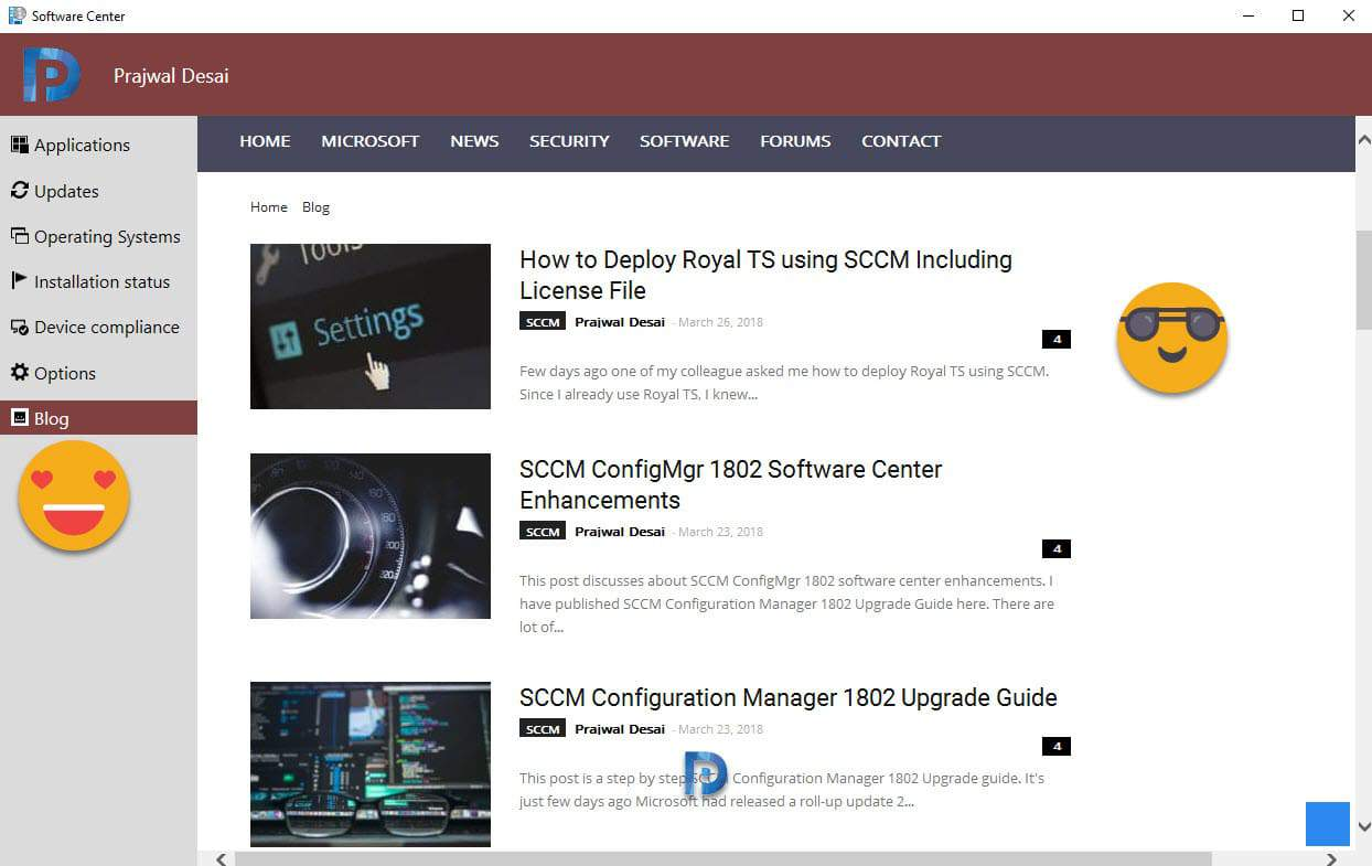 SCCM Technical Preview 1803 Features