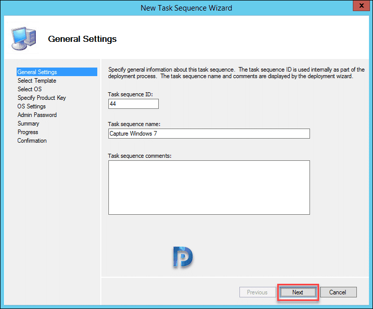 Capture Windows 7 Using MDT