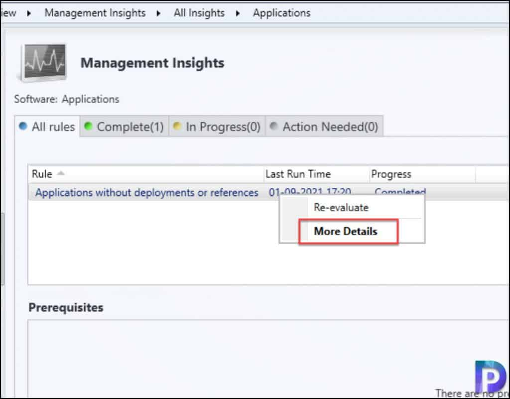 Find SCCM Applications Without Deployments