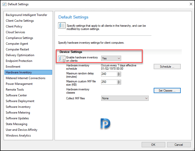 Configure Asset Intelligence in Configuration Manager