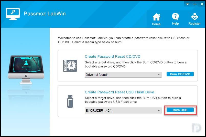 Reset Windows 10 Forgotten Password