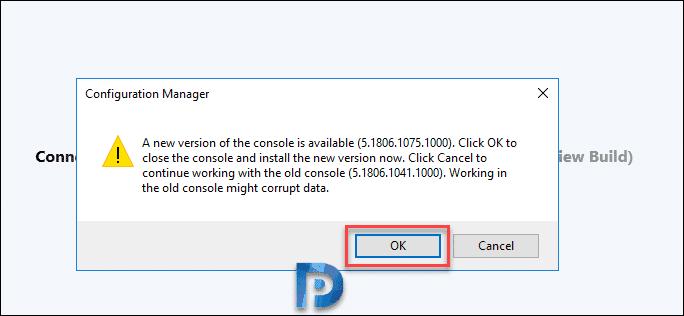 SCCM ConfigMgr Technical Preview 1806.2 Features