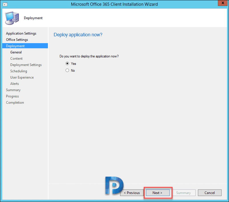 Deploy Office 365 ProPlus using SCCM