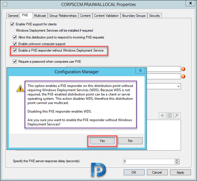 Enable PXE Responder without WDS