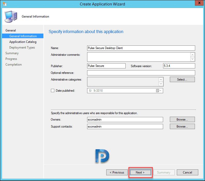 How to Deploy Pulse Secure Desktop Client using SCCM