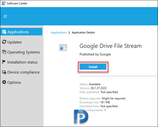 How to Deploy Google Drive File Stream Using SCCM