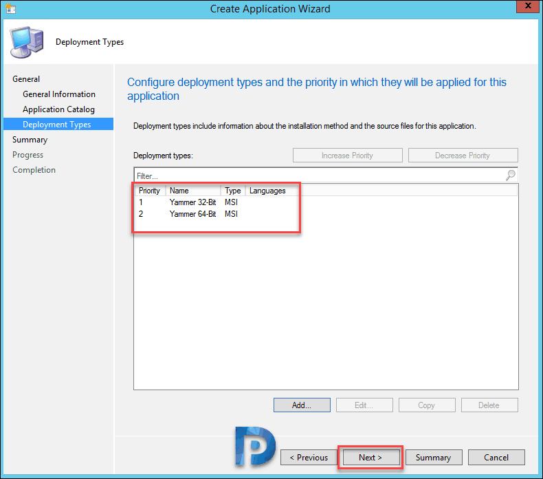 How to Deploy Yammer using SCCM