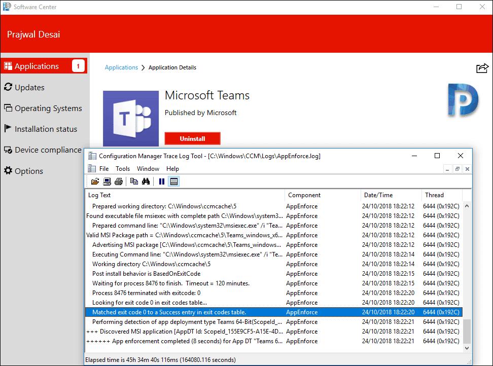 Microsoft Teams Deployment Using SCCM