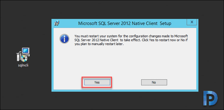 SQL Server Native Client TLS 1.2 support