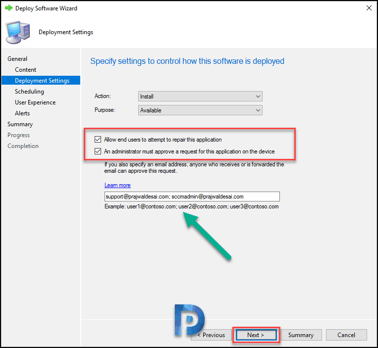Approve SCCM Application Requests via Email