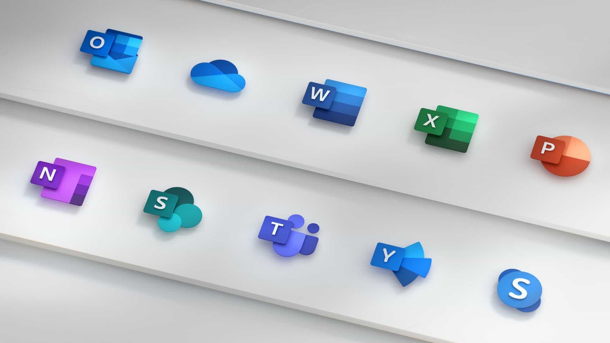 Microsoft Office Apps Get New Icons