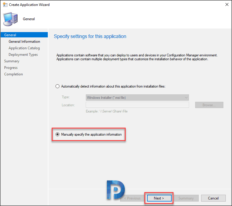 Deploy Shotcut Application using SCCM