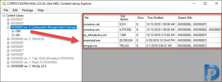SCCM Content Library Explorer Tool