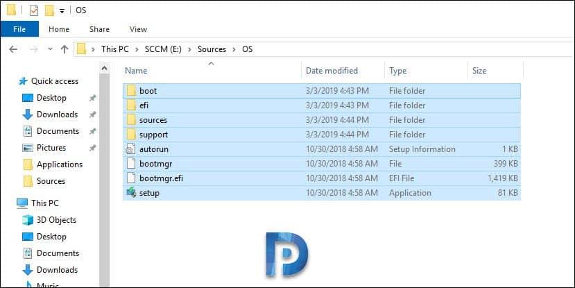 Windows Server 2019 OS Sources
