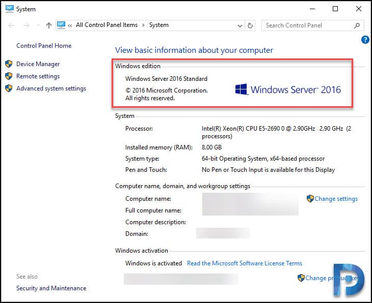 Perform Windows Server 2019 In-Place Upgrade