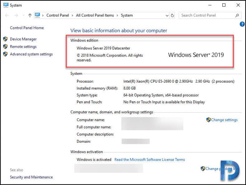 Perform Windows Server 2019 In-Place Upgrade – Prajwal Desai