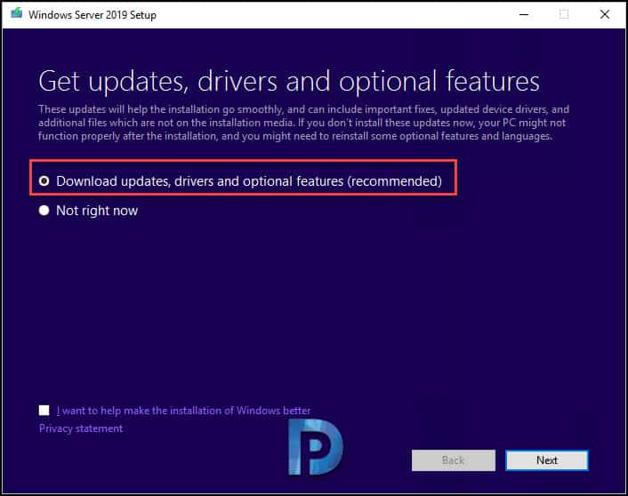 Windows Server 2019 Upgrade Options