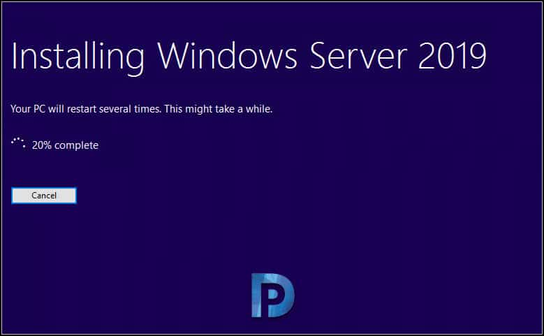 Server 2019 upgrade