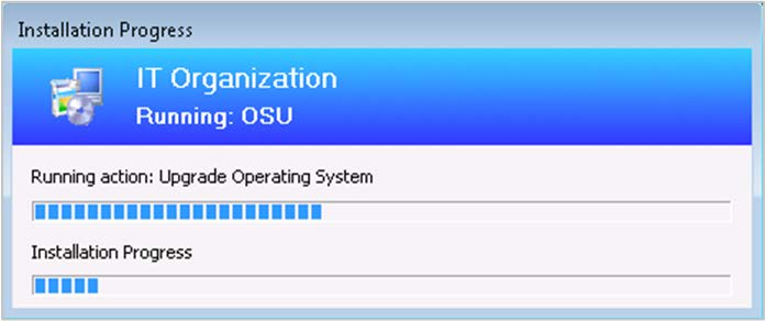 SCCM 1902 OSD Progress