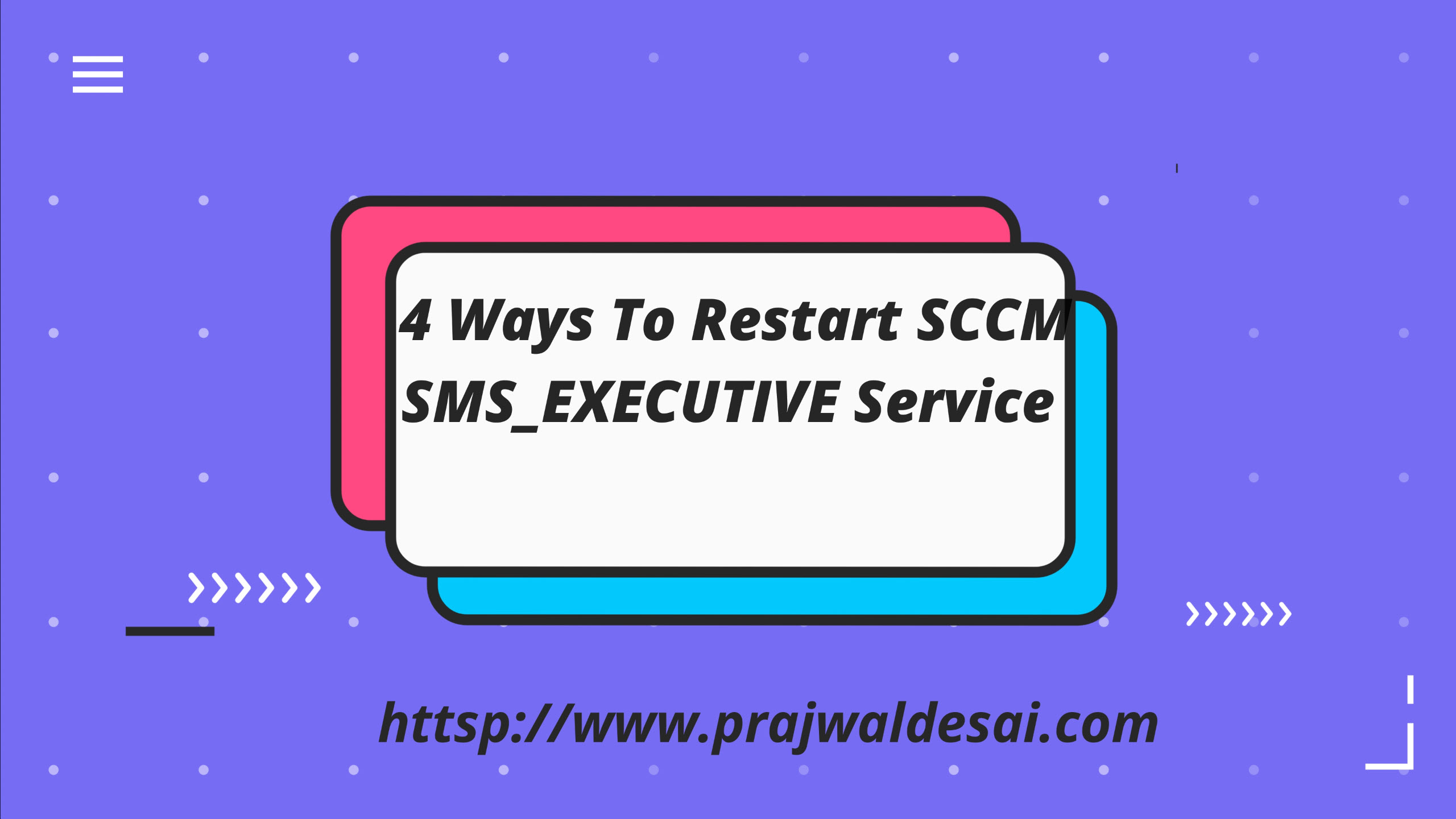 4 Ways to Restart SCCM SMS_EXECUTIVE Service