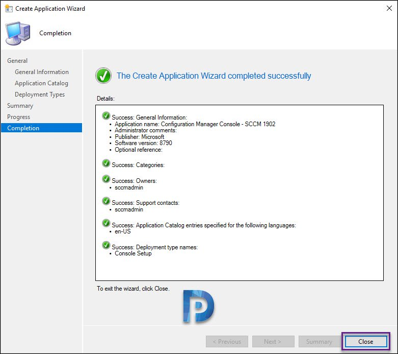 Deploy Configuration Manager Console Using SCCM