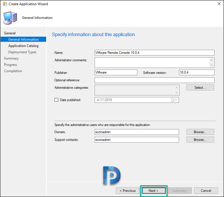 deploy vmware remote console using sccm