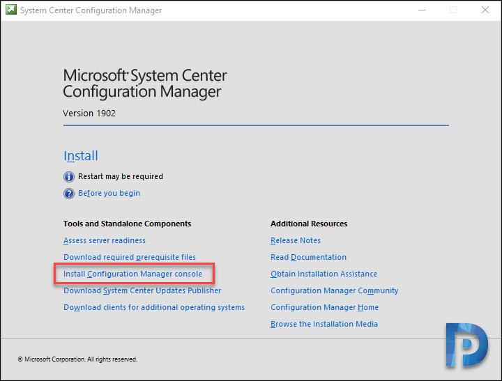Install SCCM Console on Windows 10 – Prajwal Desai
