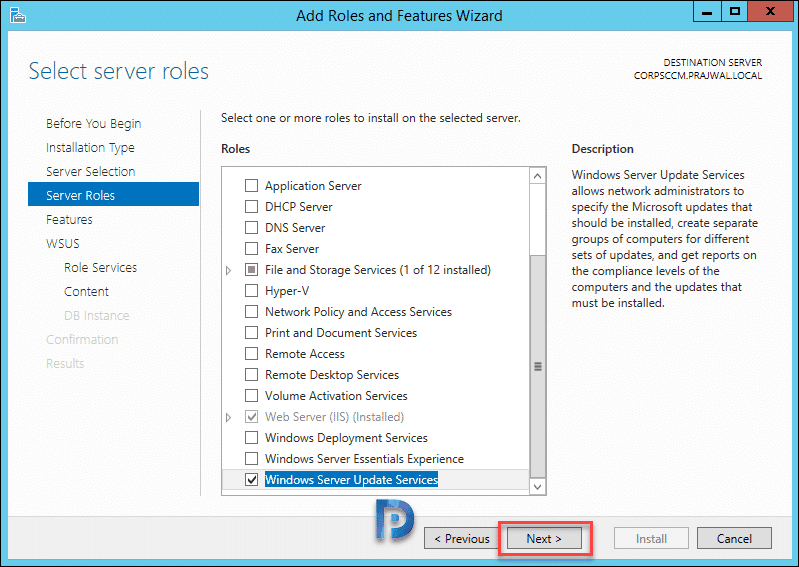 SCCM 1902 Install Guide Using Baseline Media – Prajwal Desai