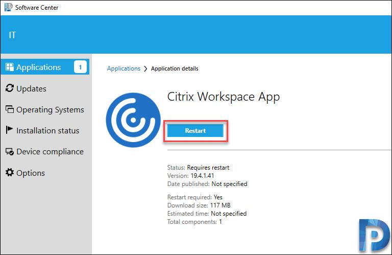 Deploy Citrix Workspace App using SCCM