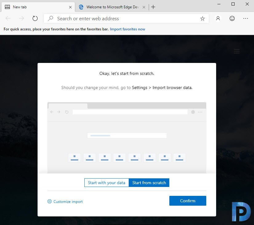 Download Microsoft Chromium Edge on Windows 10