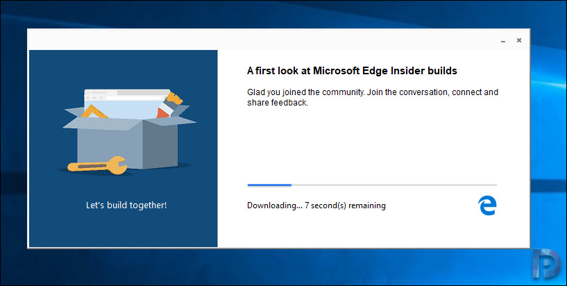 Download Microsoft Chromium Edge on Windows 10 – Prajwal Desai
