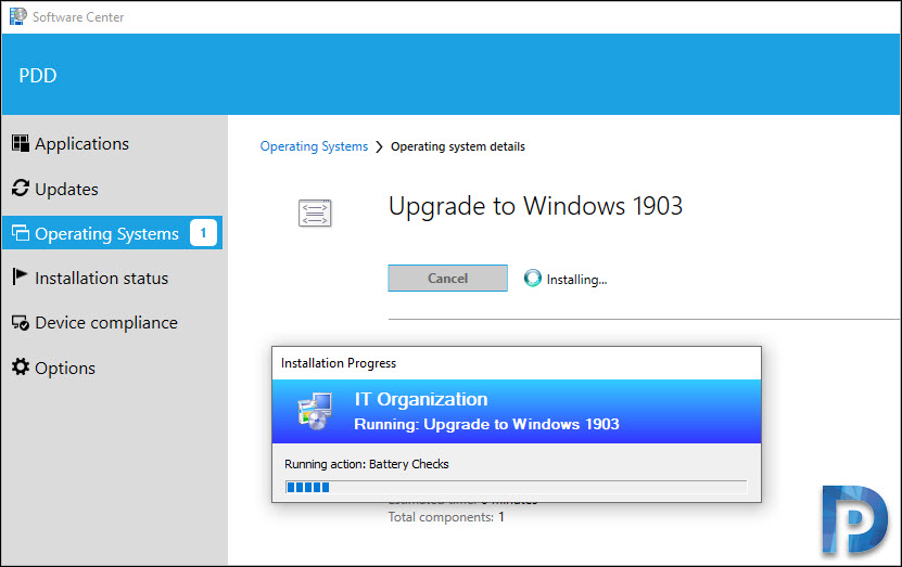 Windows 10 Upgrade Process